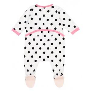 Polka dot babygrow