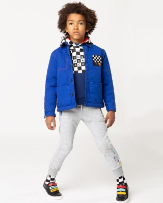 LITTLE MARC JACOBS Joggers with colorful zippers