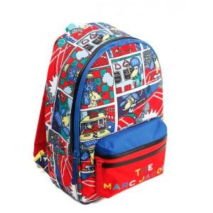 Comic print backpack