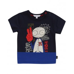 LITTLE MARC JACOBS Mister Marc printed T-shirt