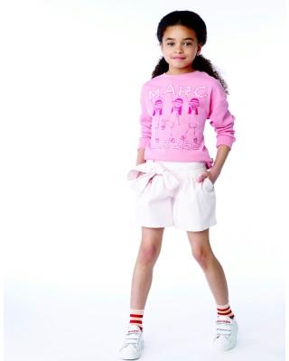 LITTLE MARC JACOBS Pink Miss Marc sweatshirt