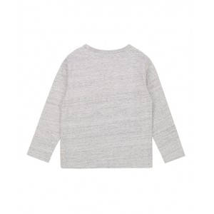 Gray t-shirt with comic print