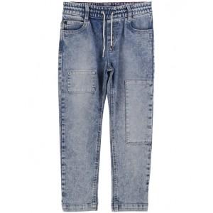 LITTLE MARC JACOBS Drawstring slim fit jeans