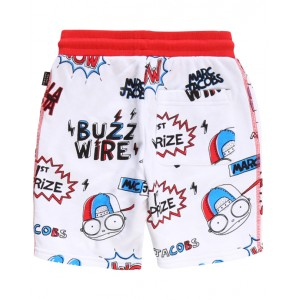 LITTLE MARC JACOBS Mister Marc printed swim shorts