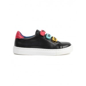 Logo trainers in black