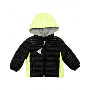 MONCLER Black and neon jacket