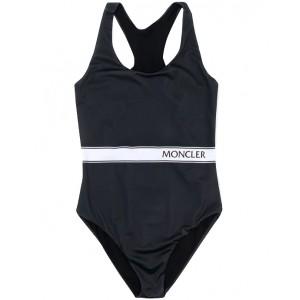 MONCLER Logo stripe swimsuit