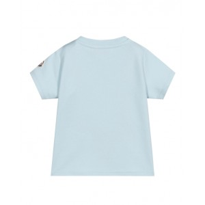 Logo baby T-shirt in blue