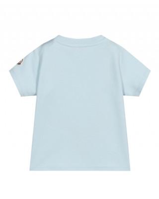 Logo baby T-shirt in blue