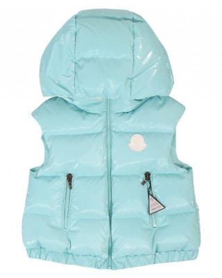 Light blue down gilet
