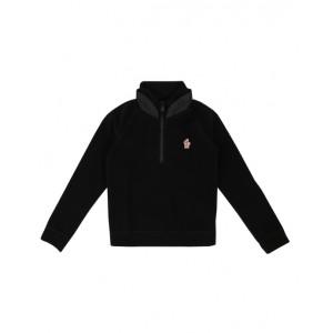 Zip fleece sweatshirt