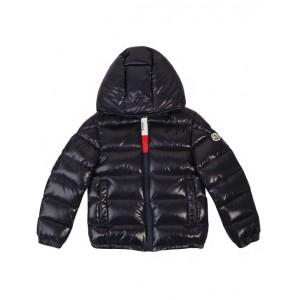 Dark navy puffer down jacket