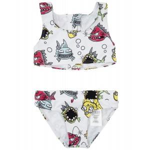 STELLA MCCARTNEY KIDS Bikini with fish print