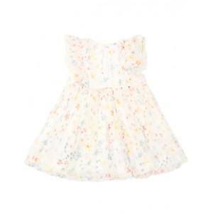 STELLA MCCARTNEY KIDS Silk voile dress and bloomers