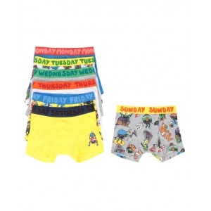 STELLA MCCARTNEY KIDS Music Monsters Jersey Rib Brief Week Set
