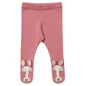 Horse knit trousers in pink