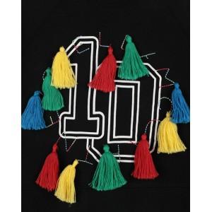 STELLA MCCARTNEY KIDS Black anniversary sweatshirt