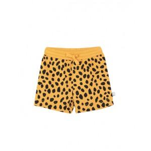 Cheetah dots cotton shorts