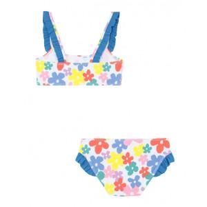 Bikini with multicolor flower