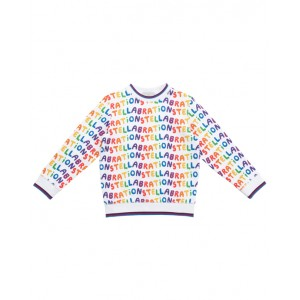 STELLA MCCARTNEY KIDS Stellabration cotton sweatshirt