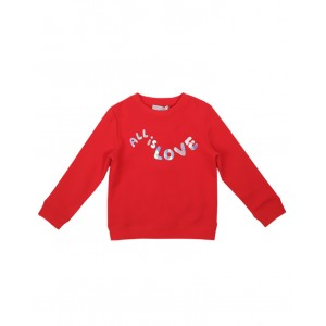 All Is Love blouse in red