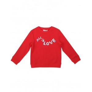 STELLA MCCARTNEY KIDS All Is Love blouse in red