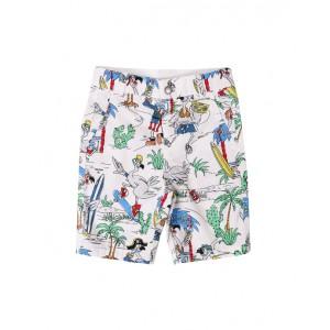 Flamingo print shorts