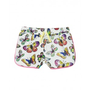 All-over butterflies print shorts