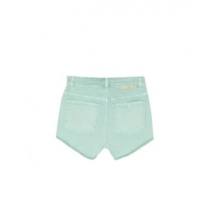 Denim mint shorts