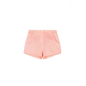 Denim coral shorts
