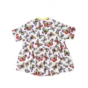 Butterflies print dress