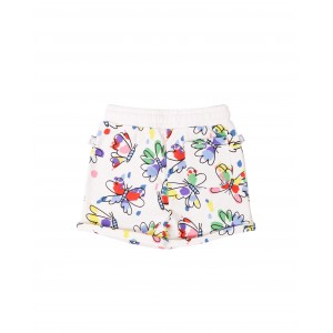 Butterfly print shorts