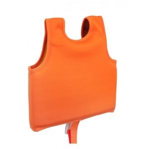 SUNNYLIFE Swim vest 1-2 years desert palms - neon pomelo