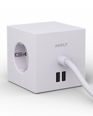 AVOLT Square 1 multinational socket box