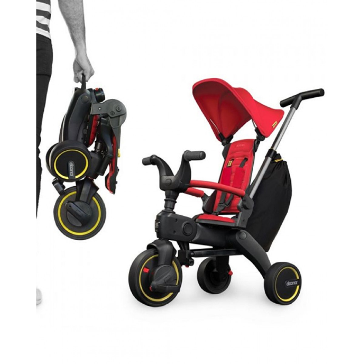 DOONA Tricycle Liki Trike S3- Red